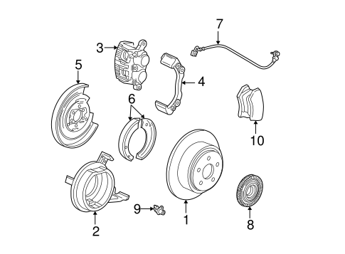 rear brakes for 2001 ford f