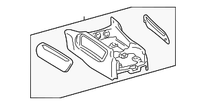 Lower Assembly - Toyota (58810-0C021-B0)