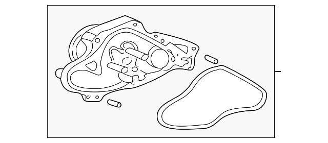 Water Pump Assembly - Honda (19200-P8A-A02)
