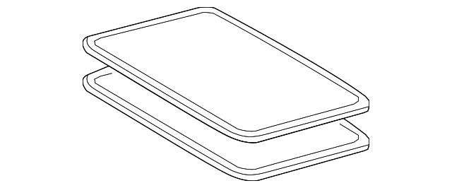 Sunroof Glass - Toyota (63201-0E040)