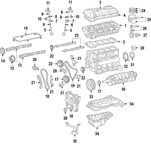 Chain Guide - Toyota (13559-75060)