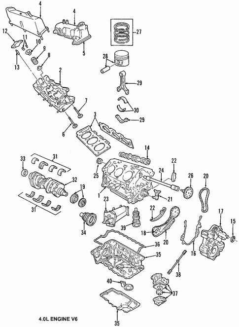 Engine for 2008 Ford Explorer Sport Trac | Fuller Auto Parts | Sport Trac Engine Diagram |  | Fuller Auto Parts