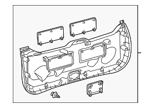 Lower Trim Panel - Toyota (67750-47050-B0)
