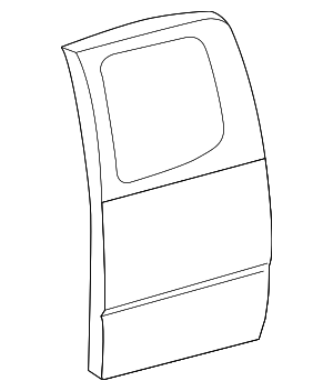 Door Shell - Toyota (67004-04091)