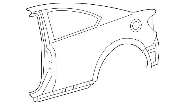 Quarter Panel - Toyota (61601-21220)