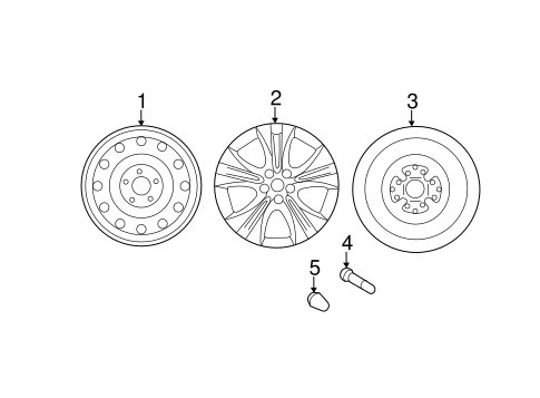 Wheel, Alloy - Hyundai (52910-3Q250)