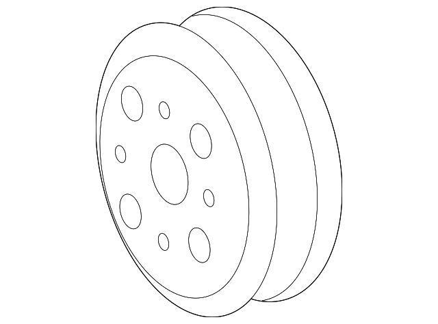 Pulley - Toyota (16173-0S010)