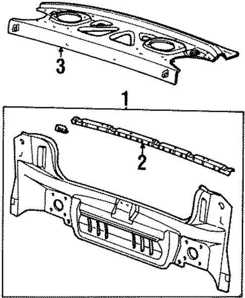 oem rear body for 1999 saturn sc2