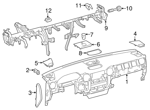 Reinforced Beam Stay - Toyota (55328-08090)