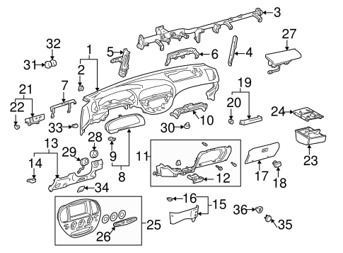 Side Bracket - Toyota (55306-0C010)