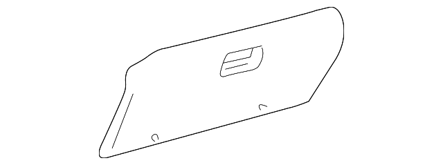 Glove Box Door - Toyota (55550-0C010-B0)