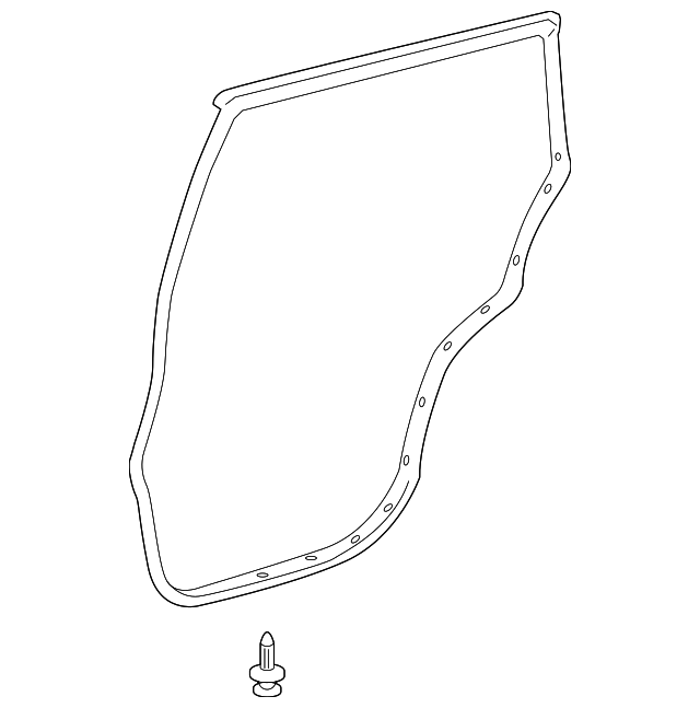 Door Weather-Strip - Toyota (67871-0R010)