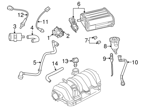 Dodge Challenger V8 Engine