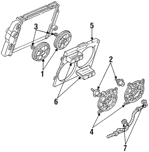 230621378097 also 91 Pontiac Firebird Engine Diagram moreover 1955 Chevrolet Full Size Windshield Seal additionally 1958 Chevrolet Heater Box Seal Kit together with Cooling Fan Scat. on 91 firebird trans am