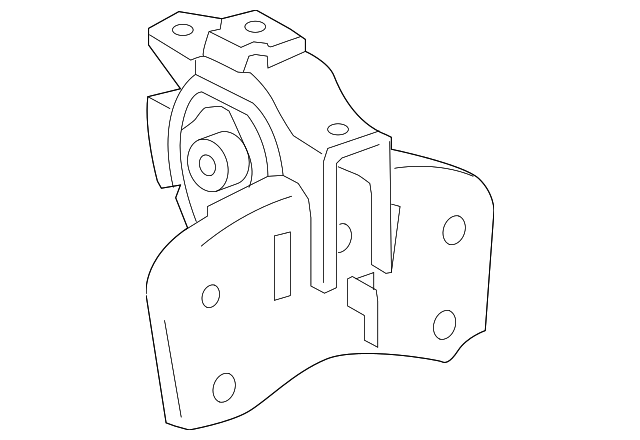 Side Mount - Toyota (12372-37110)