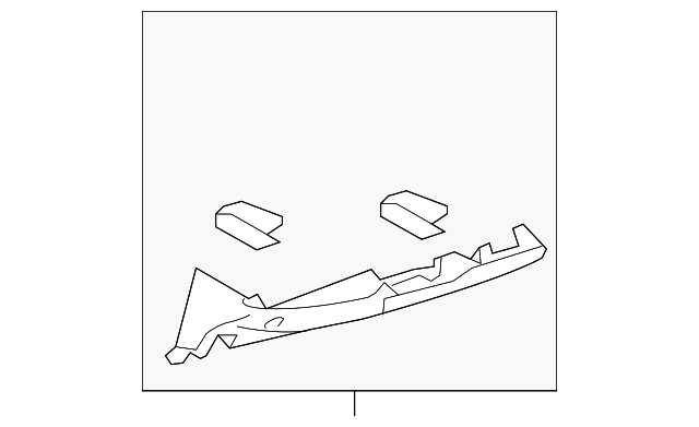 Lower Trim Panel - Toyota (55302-06030-E0)