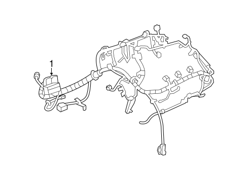 wiring harness parts for 2013 buick lacrosse