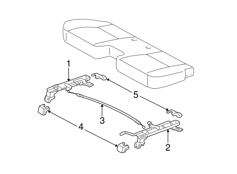 BODY/TRACKS & COMPONENTS for 2001 Toyota Tundra #5