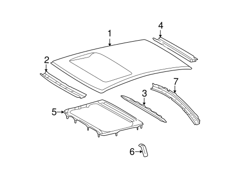 Roof Panel - Toyota (63111-AA090)