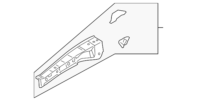 Upper Rail - Toyota (53732-07902)