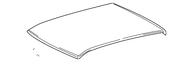 Roof Panel - Toyota (63111-02140)