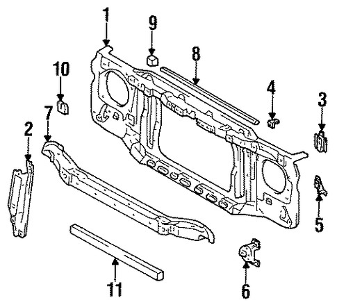 Upper Seal - Toyota (53292-34010)