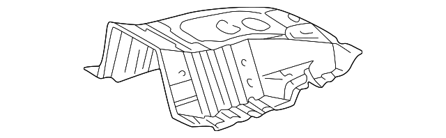 Reinforced Panel - Toyota (57511-60041)