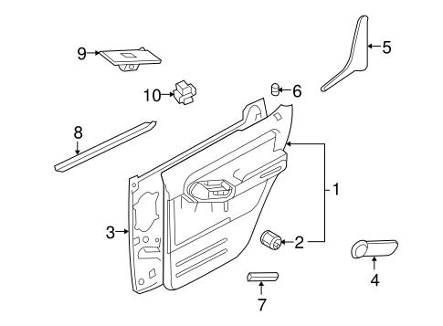ford explorer door handle ford probe door handle wiring