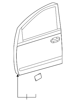 Door Shell - Toyota (67001-47060)