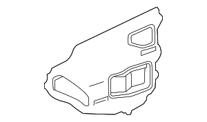 Access Cover - Toyota (67832-47030)
