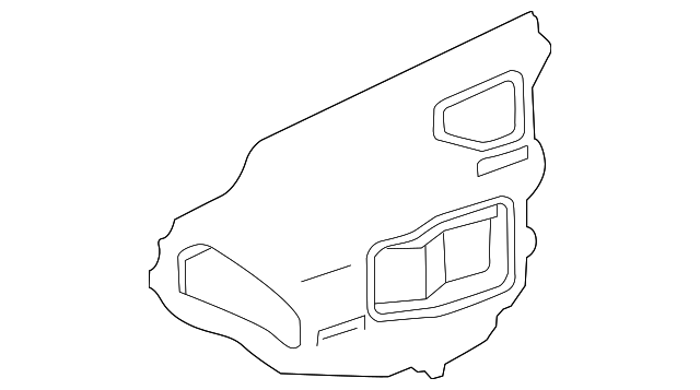 Access Cover - Toyota (67831-47040)
