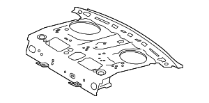 Package Tray - Toyota (64101-02290)