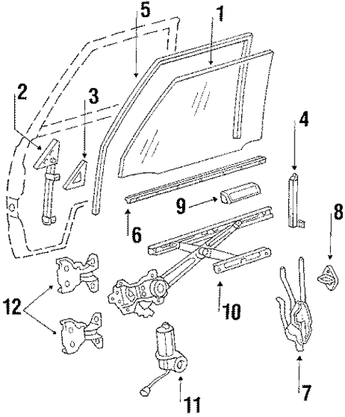 Rear Guide - Toyota (67404-87001)