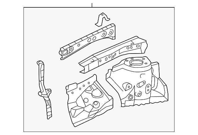 Apron Assembly - Toyota (53702-07040)