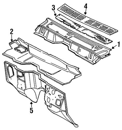 cowl for 1988 jeep comanche