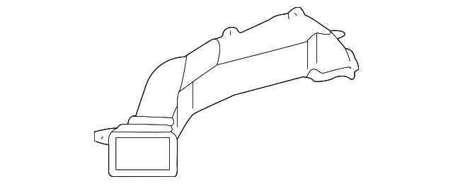 Front Duct - Toyota (55843-AA020)