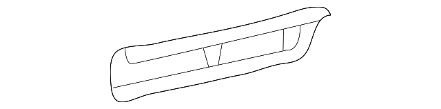 Side Rail - Toyota (61232-04020)