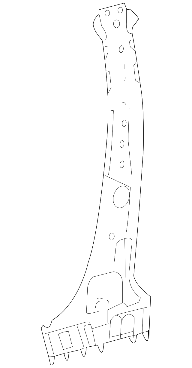 Inner Center Pillar - Toyota (61043-0E030)