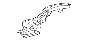 Rear Rail - Toyota (57612-0T901)