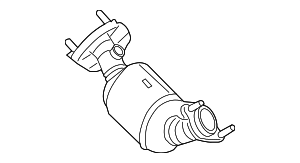 Catalytic Converter - GM 12622977