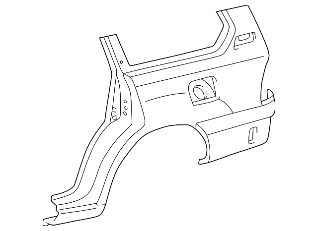 Lower Quarter Panel - Toyota (60162-60A80)
