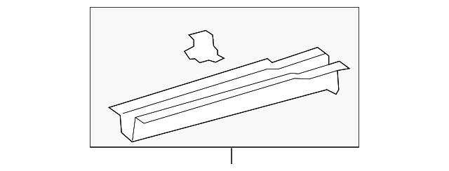 Rail End - Toyota (57616-06924)