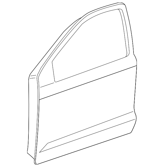 Door Shell - Toyota (67001-02240)