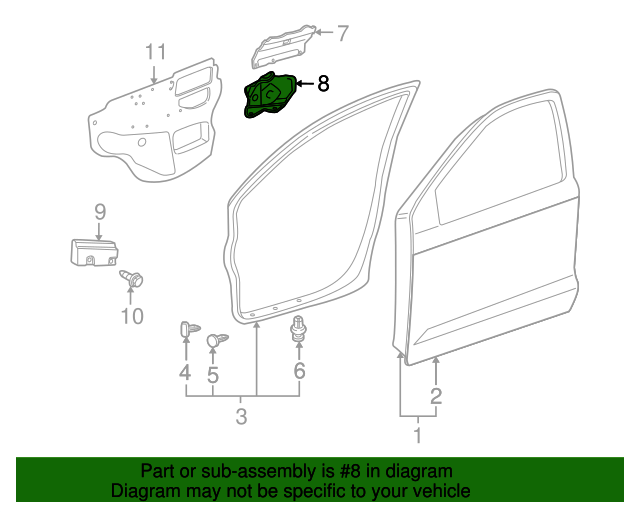 Cover Plate - Toyota (67443-01010)