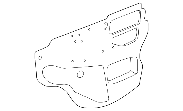 Water Shield - Toyota (67832-01021)