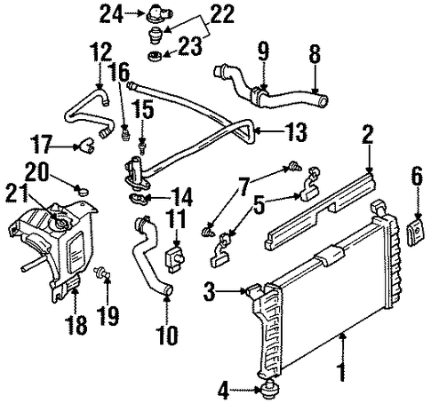 Radiator For 1997 Monte Carlo furthermore Fan Relay 2006 Chevy Monte Carlo Ss besides 03 Monte Carlo Ss also  on 2001 monte carlo ss radiator diagram