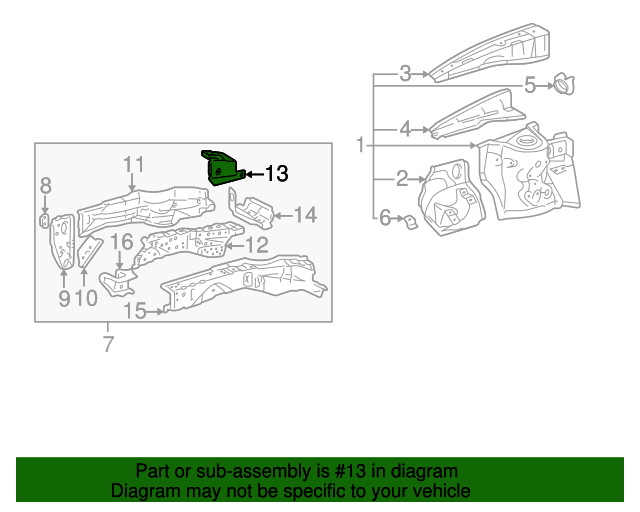 Extension - Toyota (57271-42030)