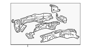 Lower Rail - Toyota (57102-42020)