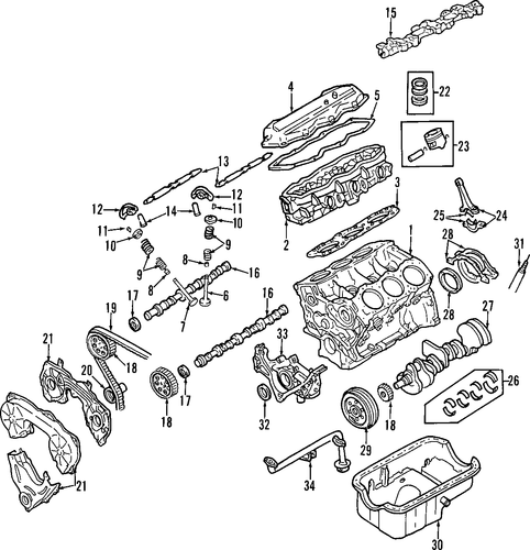 infiniti qx50 parts diagram