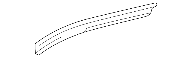 Side Rail - Toyota (61231-35140)